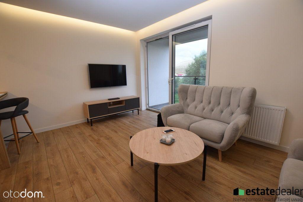 Apartament 58m2, Tauron Arena, Balkon