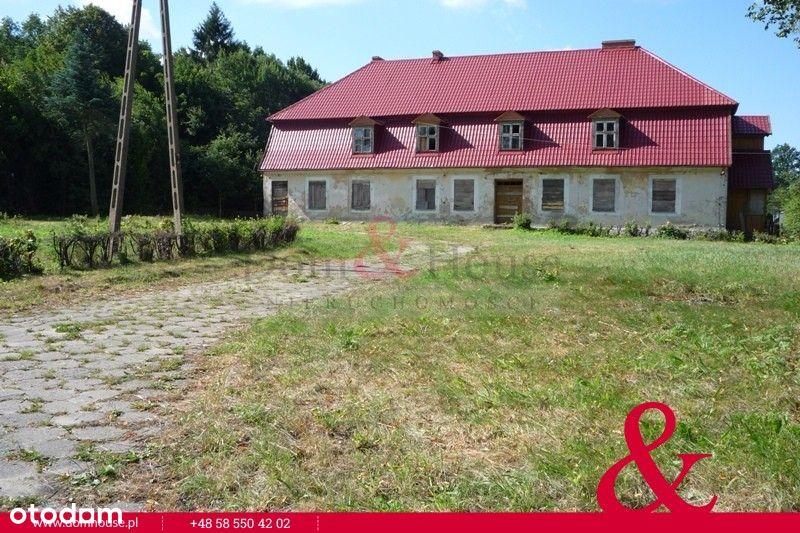 Dworek zabytkowa posiadłość 40 km od Elbląga