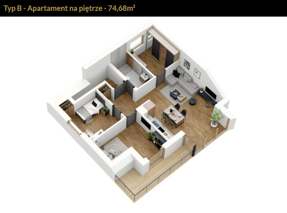 Osiedle Niskowa | apartament 236B SZPRZEDANY