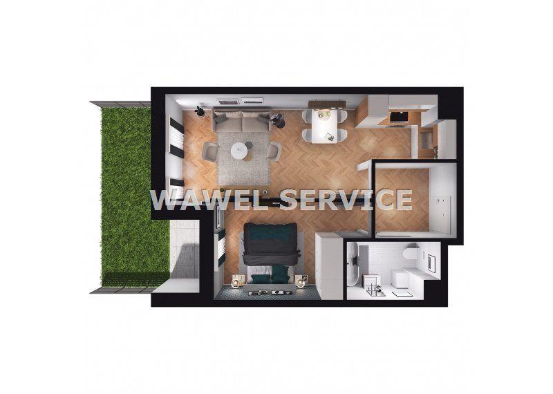 Piasta Park IV-Mieszkanie Z Ogródkiem 23,72 M2