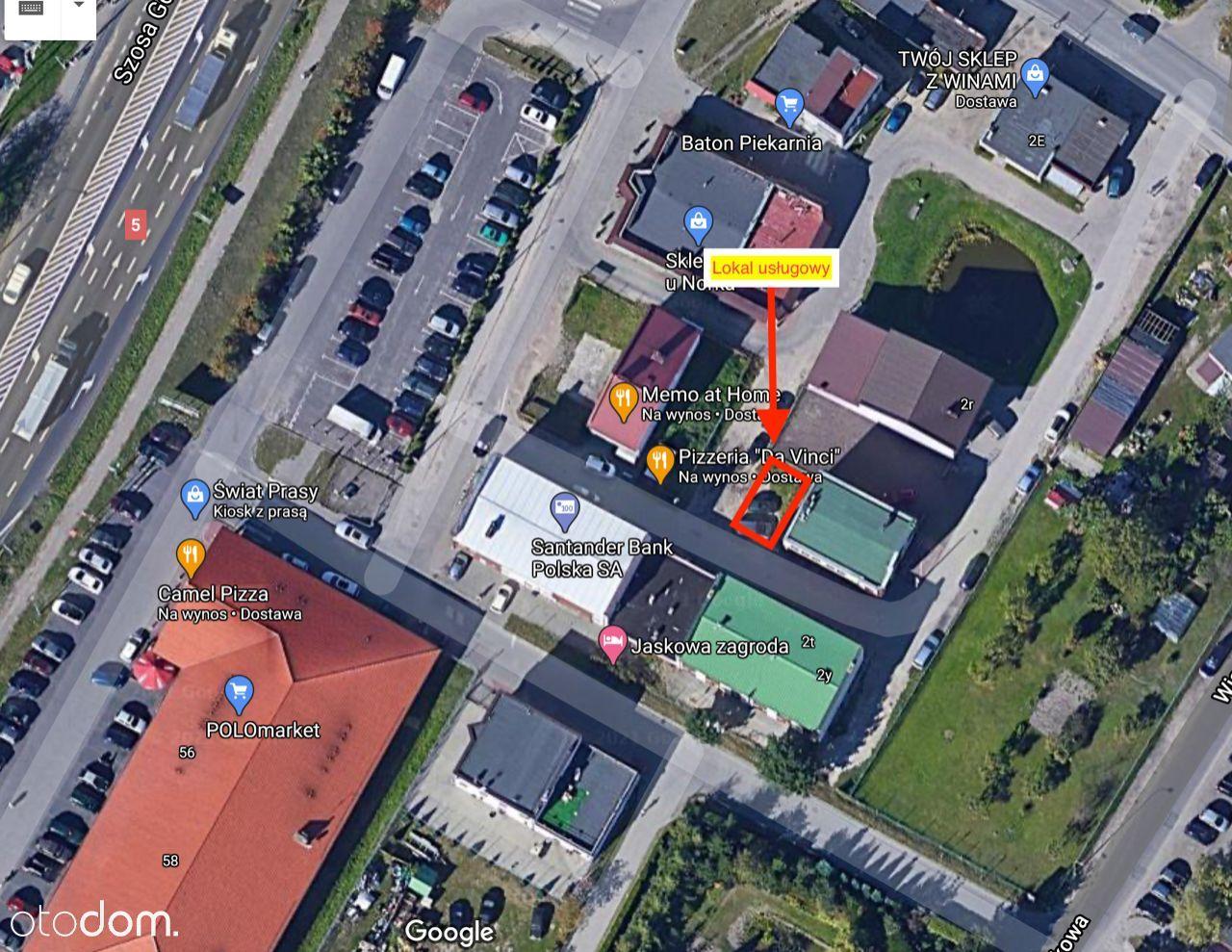 Sprzedam budynek handl.-usług. w centrum Osielska.