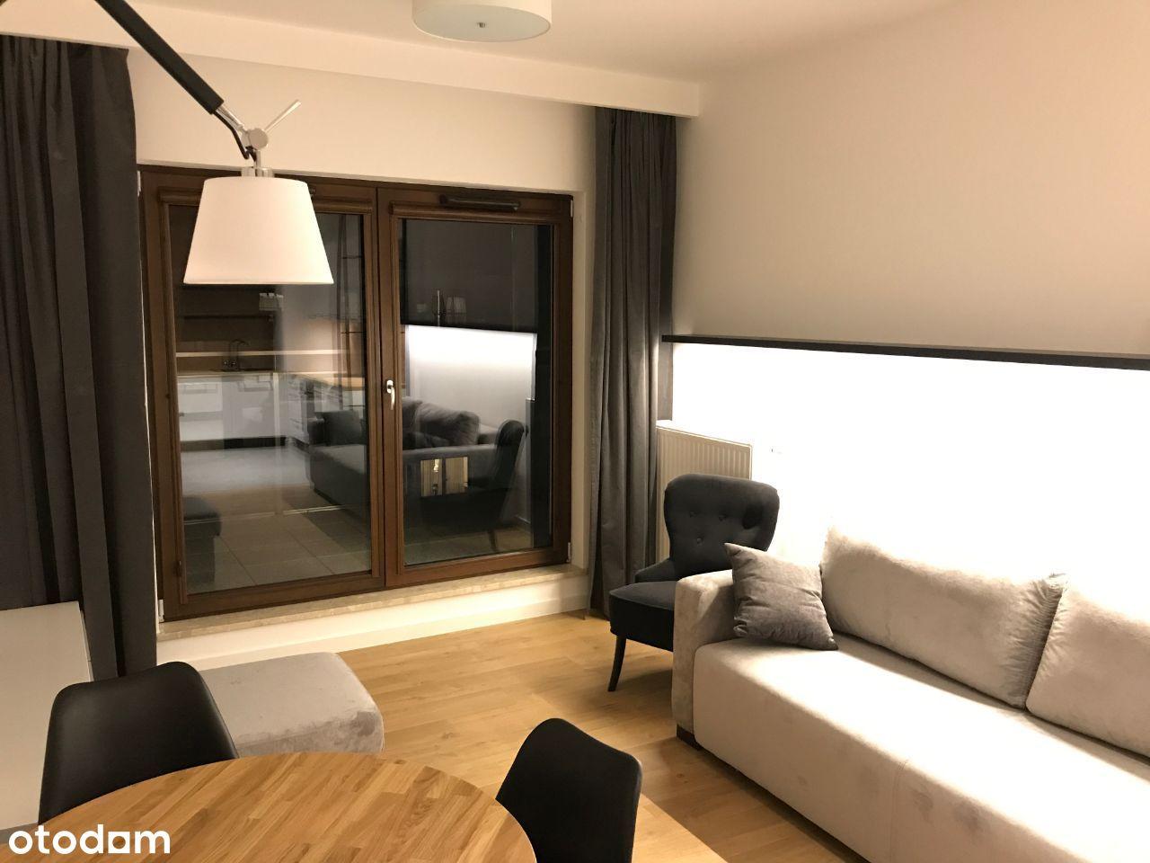 2 pokoje Wilanów, apartament, duży taras.