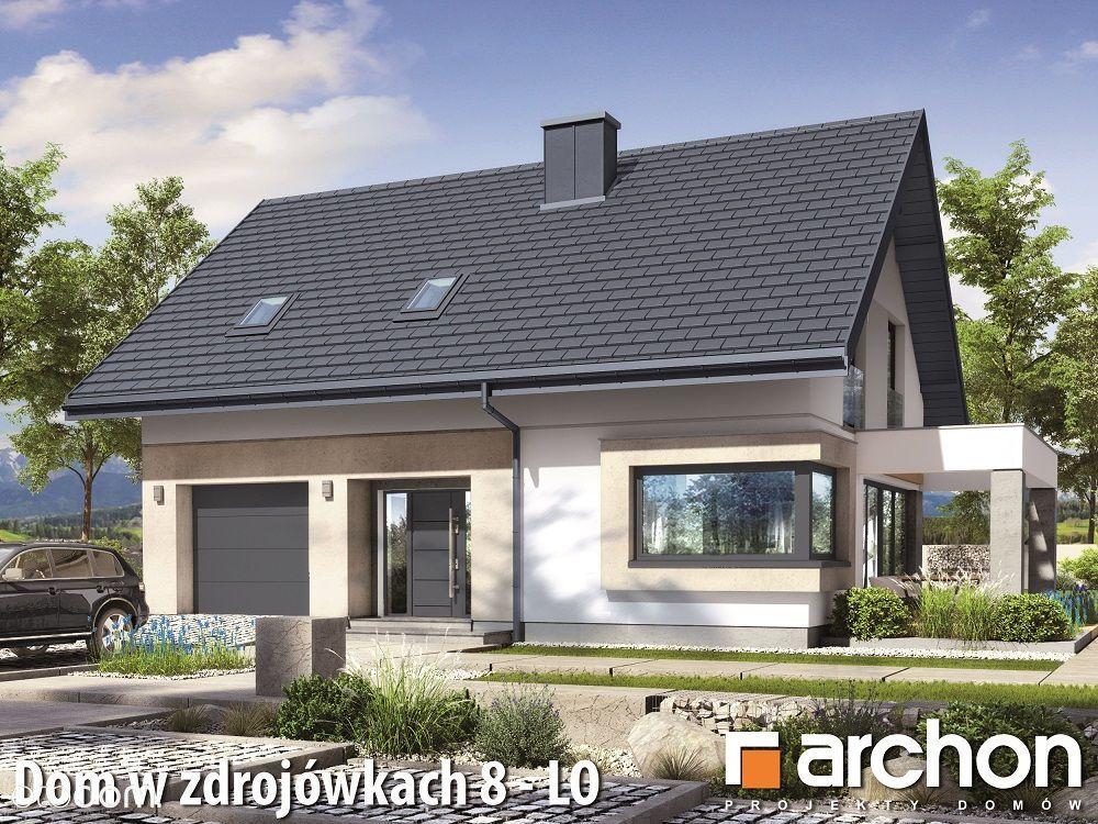 Nowy Dom Energooszczędny w trakcie budowy