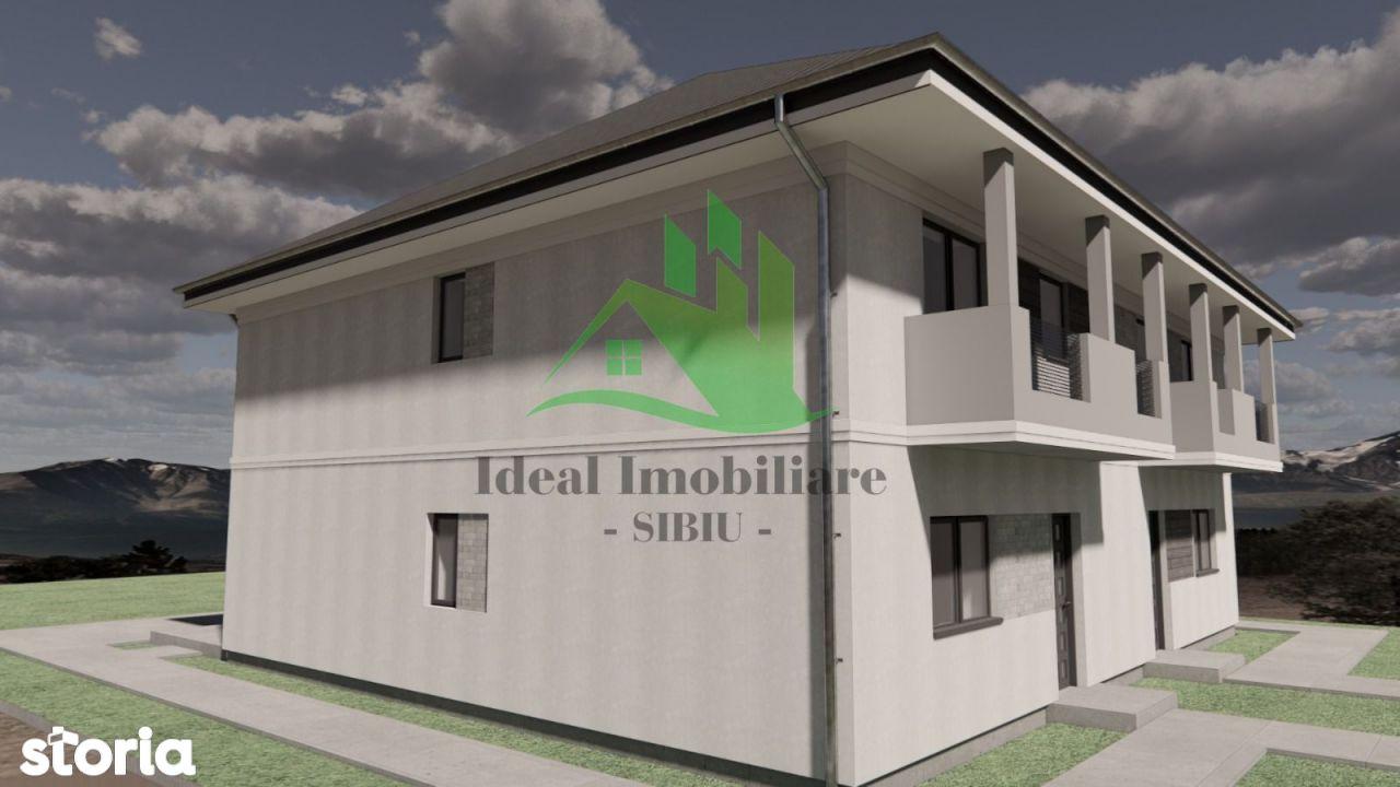 Duplex cu 350 mp de curte, in Calea Cisnadiei
