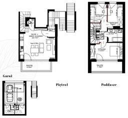 Dwupoziomowe mieszkanie Green Park Villa M38