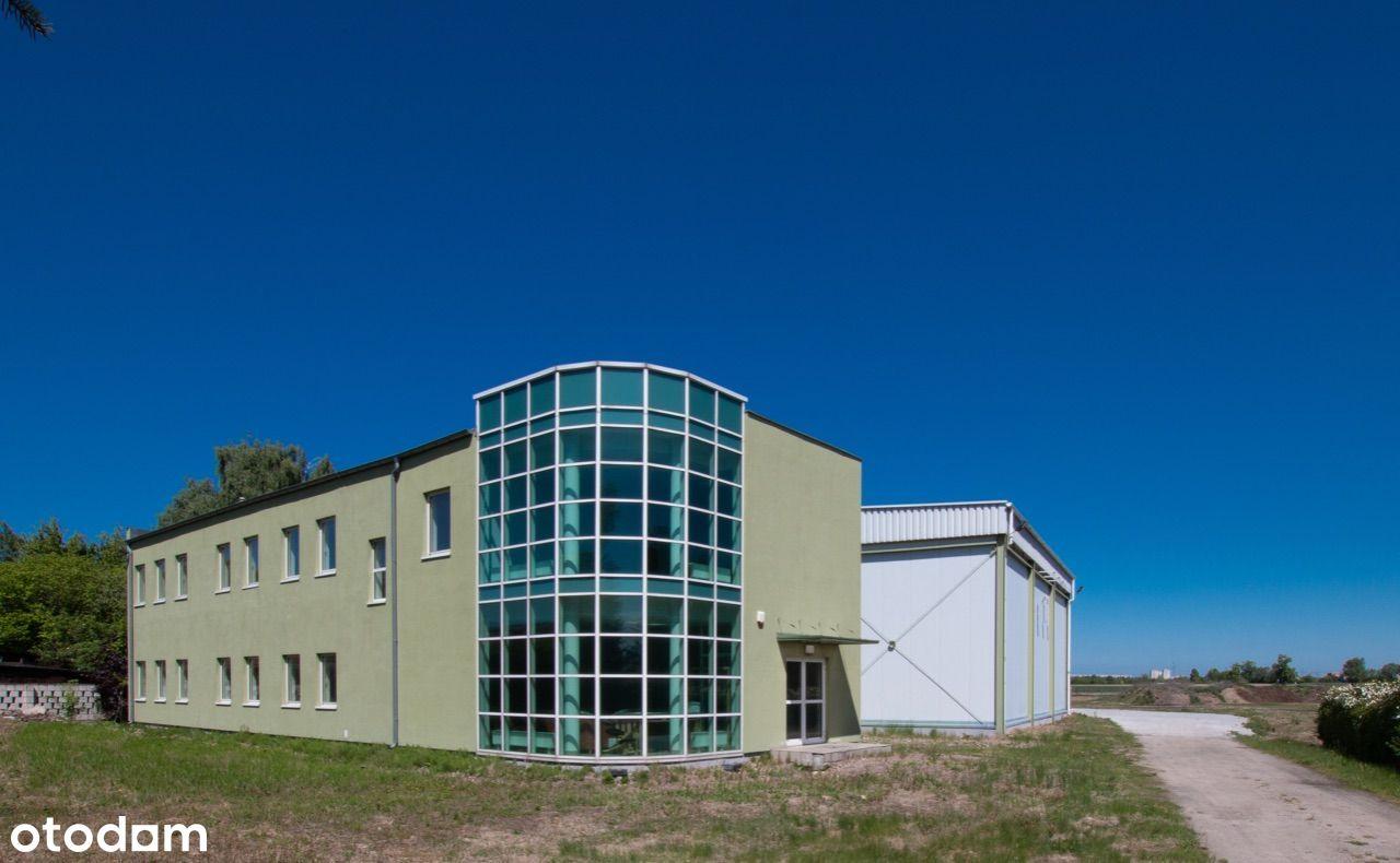 Obiekt magazynowo biurowy Poznań Krzesiny 1670 m2
