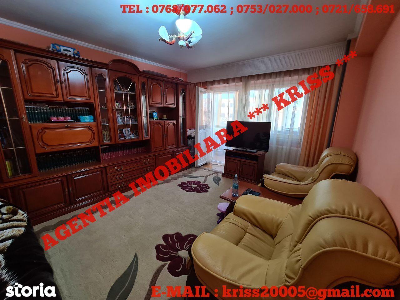 OFERTĂ!!! 3 Camere Confort 1 Decomandat EXERCIȚIU Etaj 3/4 Stradal