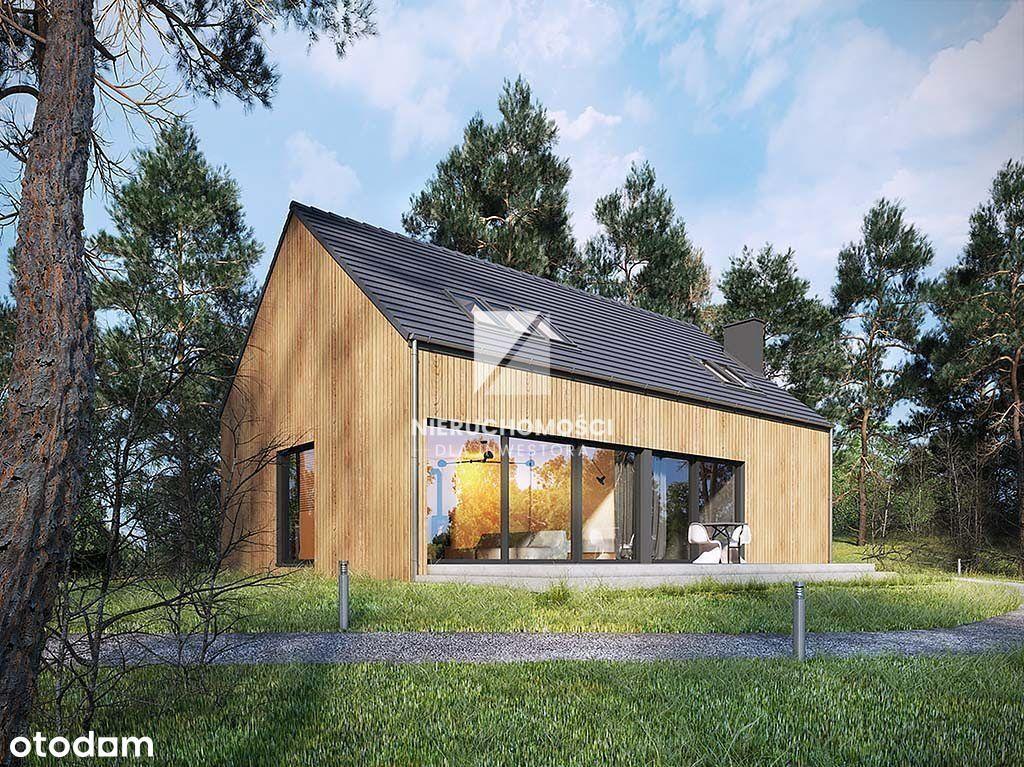 Lubniewice, nowy dom 130 mkw, w pobliżu jeziora