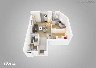 Apartament tip studio de 1.5 camere in Vivalia V6 - langa Iulius Town