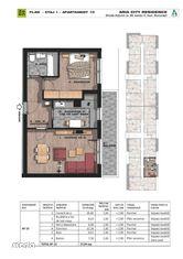Brancoveanu adiacent 2 camere decomandate etajul 1