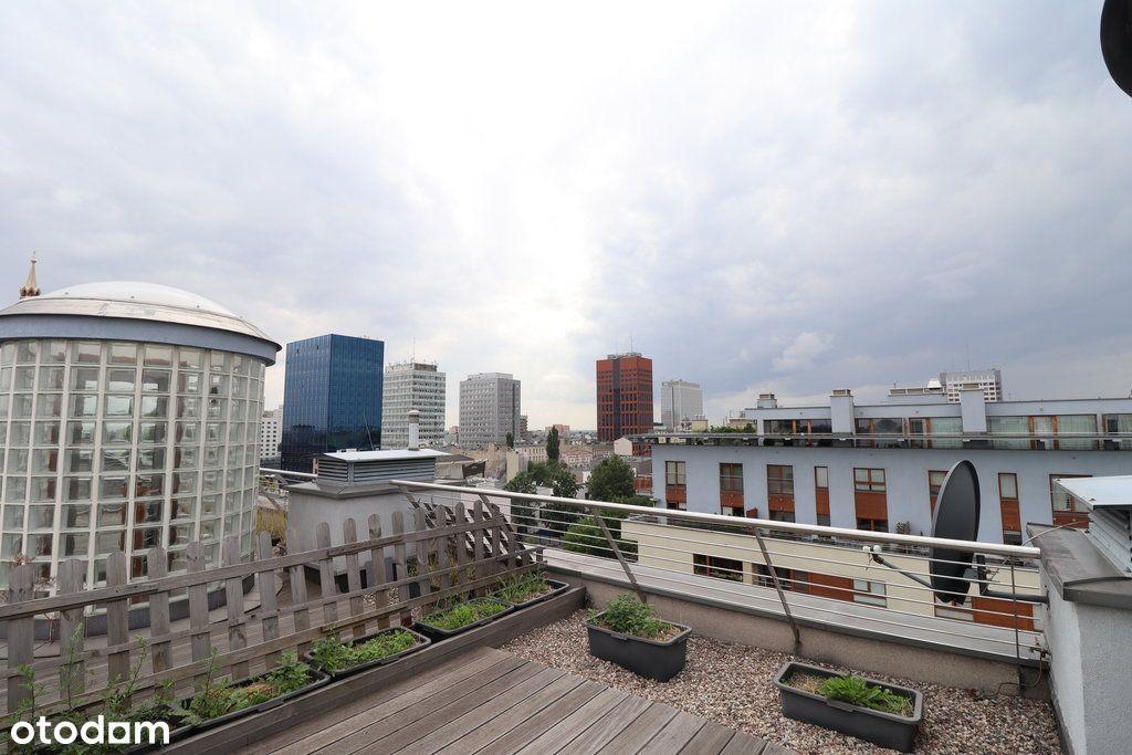 Wyjątkowy penthouse z tarasem na dachu