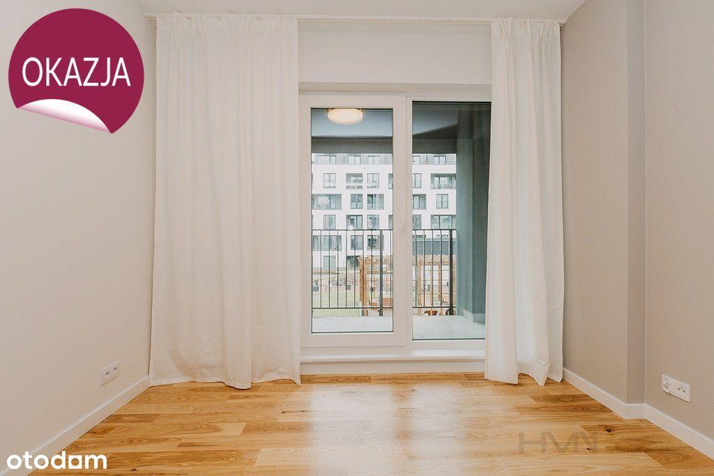 Dwustronne, rozkładowe 3 pokoje + balkon, Płaszów