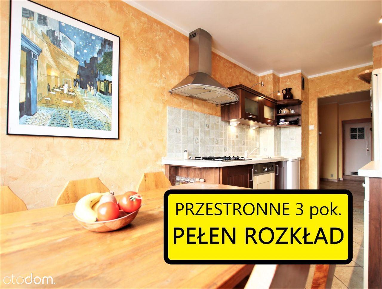 3 pokoje na Nowym Dworze / Pełen rozkład / 62,8m2