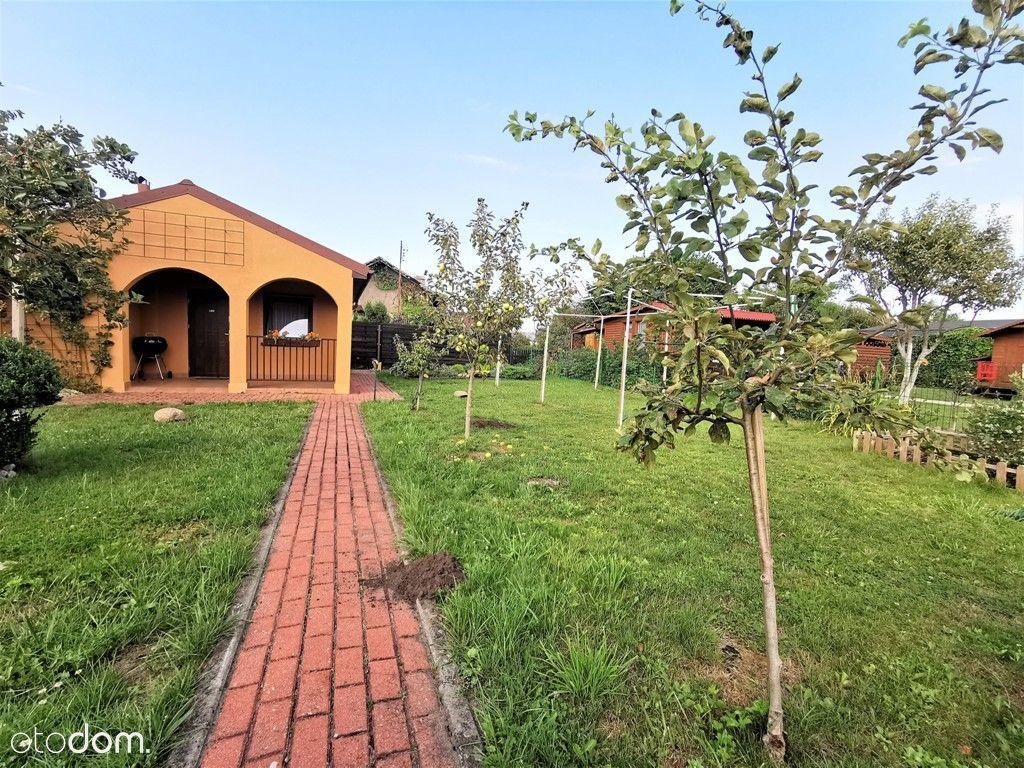 Rumia/działka ogrodowa z murowanym domkiem