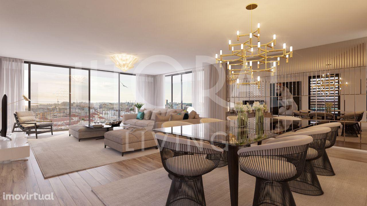 Apartamento T3 com Terraço e 2 Lugares de Garagem | Litoral Living