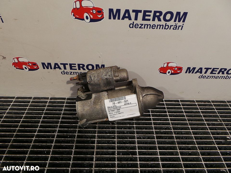 Electromotor, Opel Astra H - 1