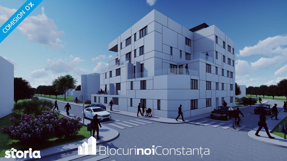 #Dezvoltator: Apartamente 3 camere (86m²) în bloc nou Constanța,Palazu