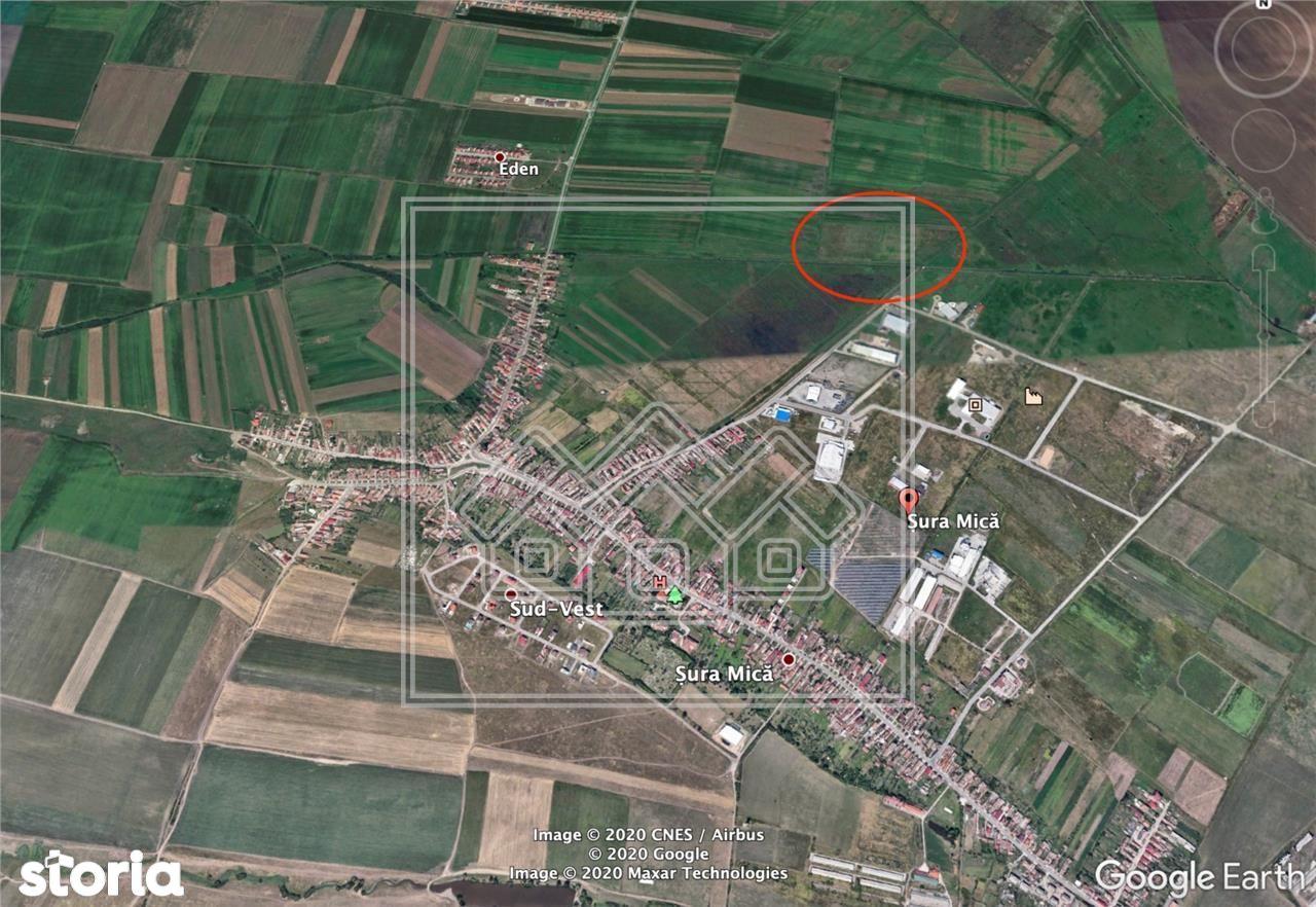 Teren in Sura Mica 7.500 mp-pretabil investitie - ansamblu imobiliar