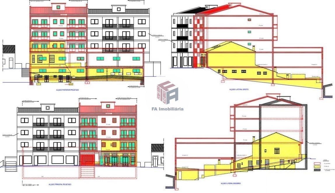 Moradia c/ 3 frações + estabelecimento - Rio Tinto