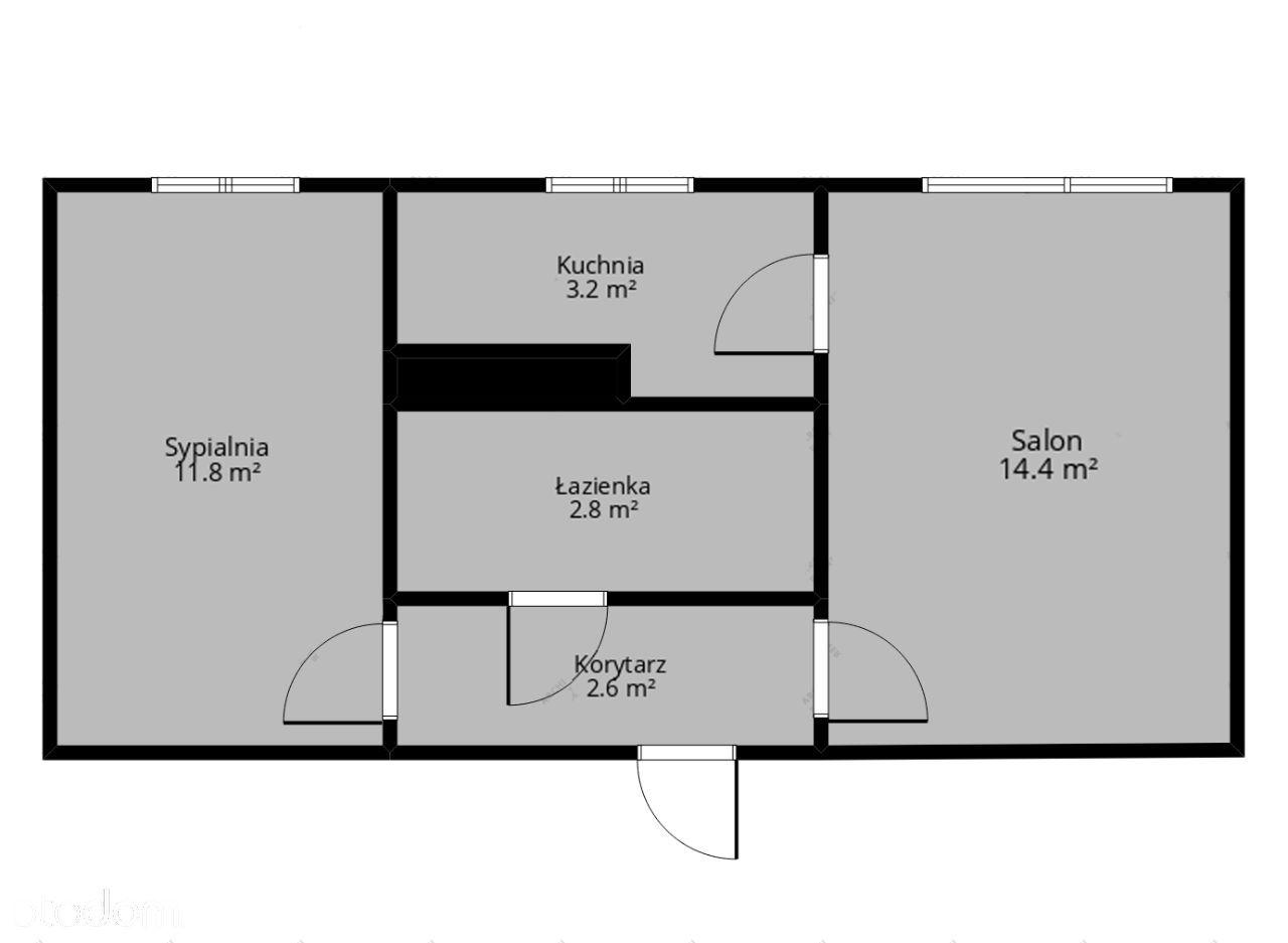 Ustawne mieszkanie 2-pokojowe do remontu XV-lecie