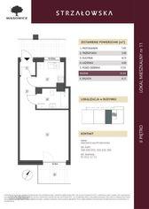Strzałowska, 2. piętro, 31mkw, 1 pokój