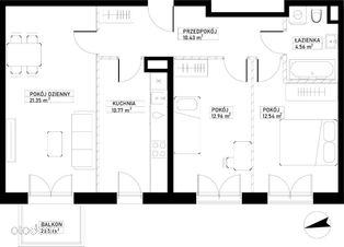 Mieszkanie A92 Harmonia+ Karpia 27