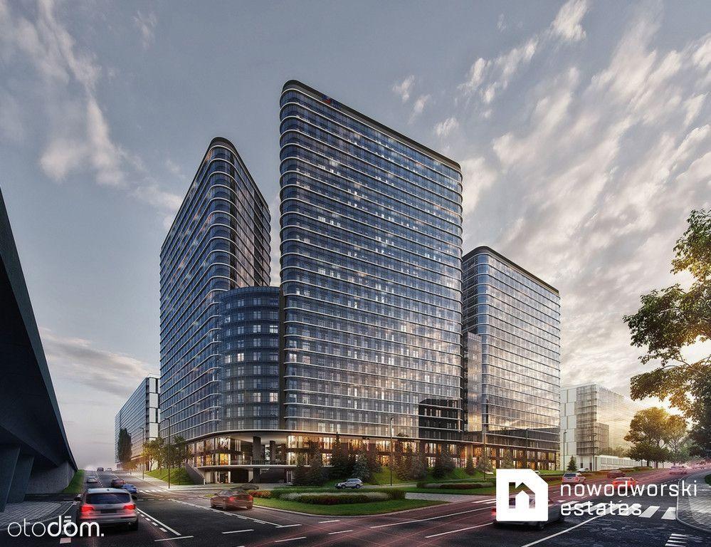 Apartament na 24 piętrze Bliska Wola Tower