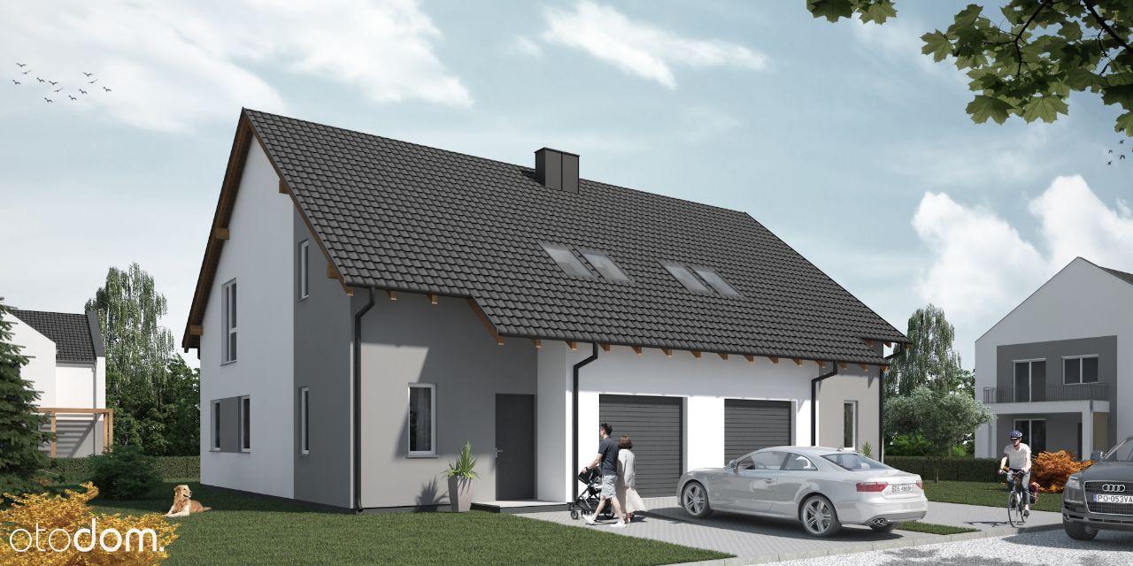 Lusowo gotowy dom z garażem 127,26m2