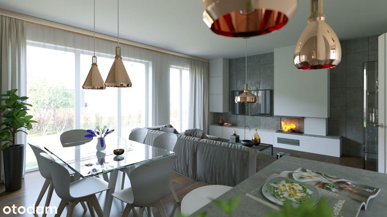 INVEST COMPLEX mieszkanie 76.2m2 z ogrodem