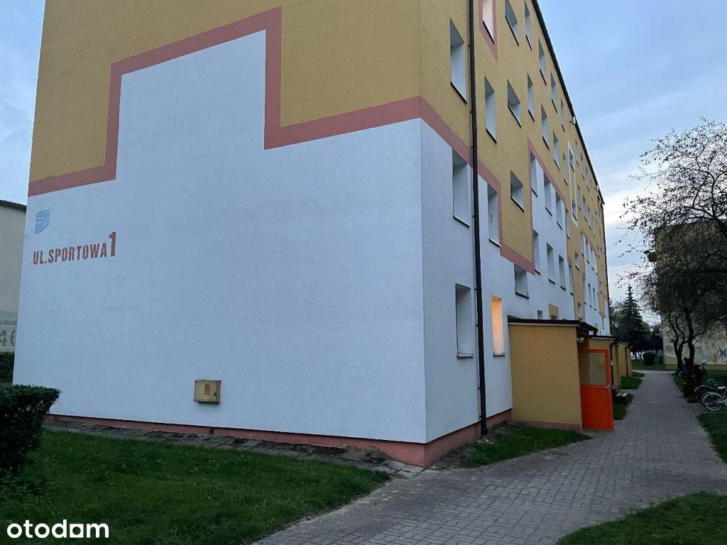 Mieszkanie na parterze - 42,2 m² - do remontu