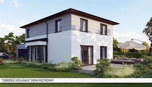 Energooszczędny piętrowy dom z rekuperacją.