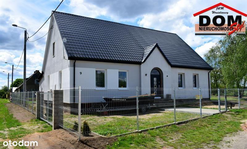 Mieszkanie 3-pok. - połowa domu z działką budowlan