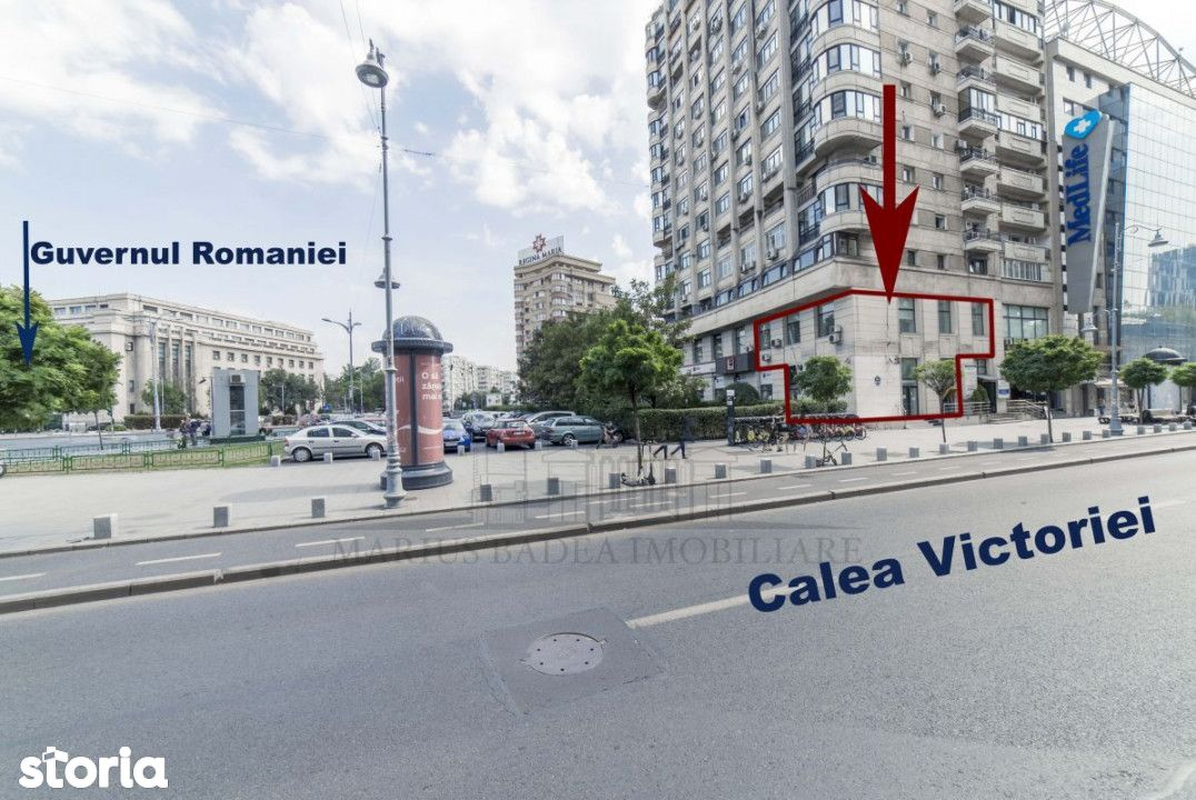 Spatiu comercial reprezentativ- Piata Victoriei- Calea Victoriei 224