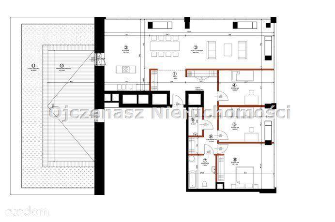 Mieszkanie, 152,77 m², Bydgoszcz