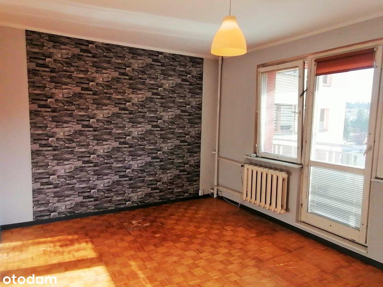 Ustawne mieszkanie, I piętro, niski blok, 3 pokoje