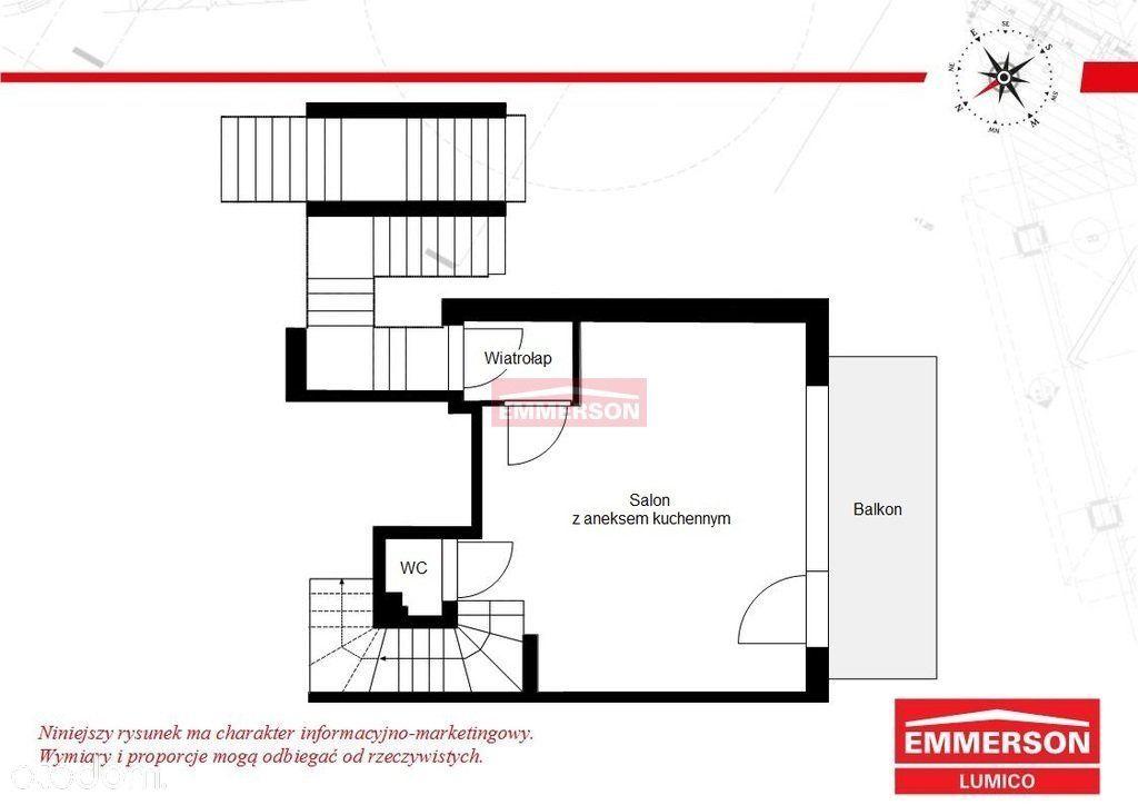 Mieszkanie dwupoziomowe 4 pokoje Bronowice Małe