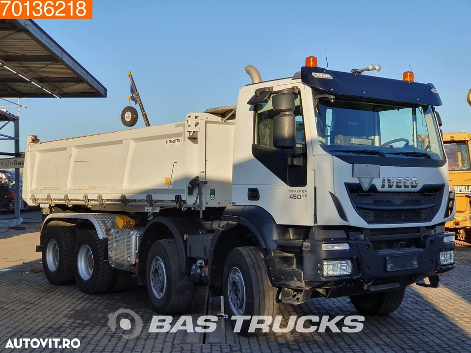 Iveco Trakker HI-Land AD340T45 8X4 Big-Axle Steelsuspension 3-Seiten Euro 6 - 9