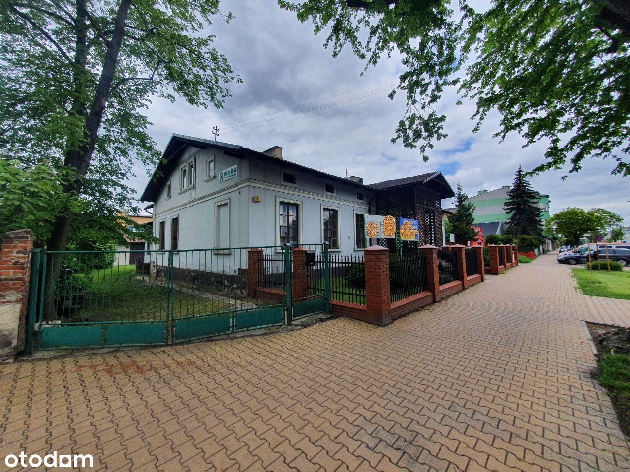 Dom/lokal użytkowy z działka w Skierniewicach