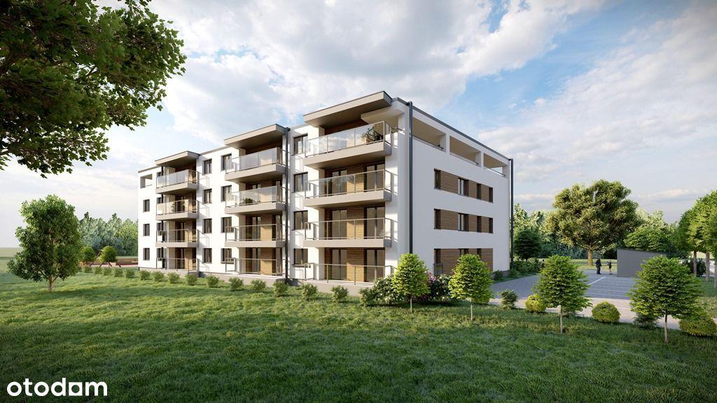 Mieszkanie z ogrodem 39,5 m2 - gotowe na czerwiec