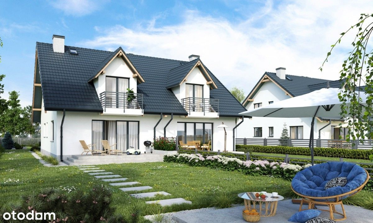Lublewo Park - nowoczesny dom z dużą działką