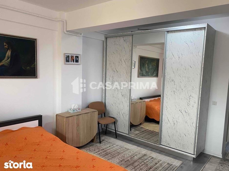 Apartament 1 cameră Păcurari-500 m rond, bloc nou, etajul 3, mobilat