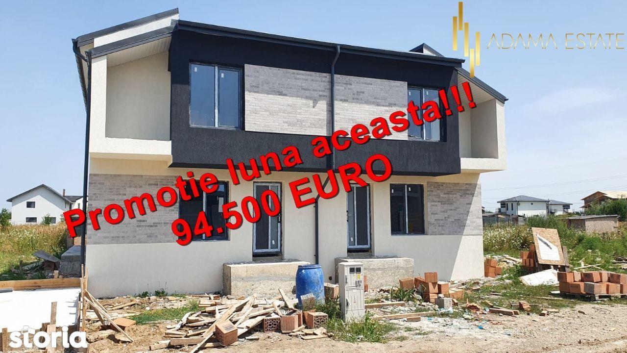 Duplex Intre Vii de vanzare,4 camere ,2 bai,100mp utili Comuna Berceni