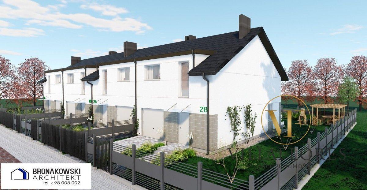 Nowy dom w zabudowie szeregowej Ruszowice