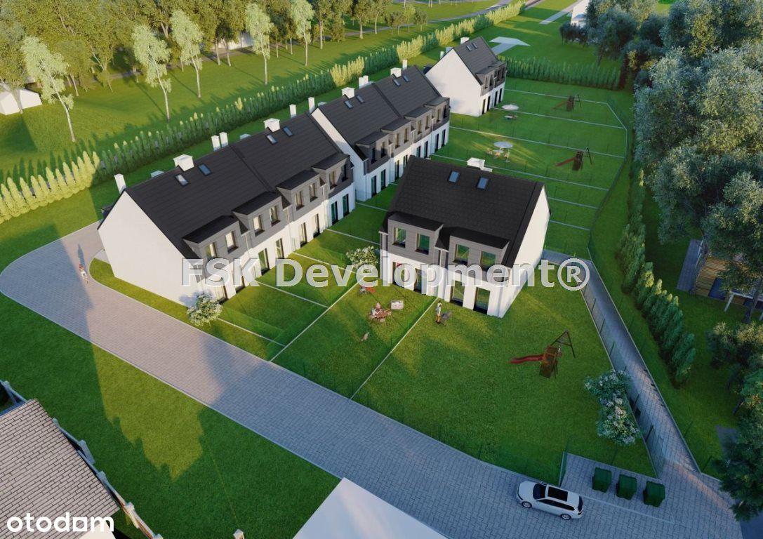 Dom bliźniak w Bieżanowie 74 m2