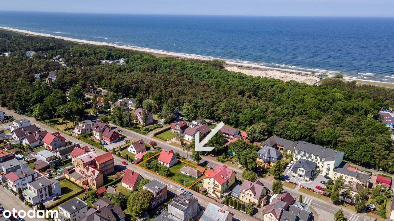 Darłówko Zachodnie ul. Zwycięstwa - 300 m od morza
