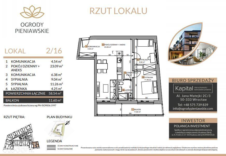 Nowe 3 pokoje/ winda/ widok na GÓRY/ 8% VAT