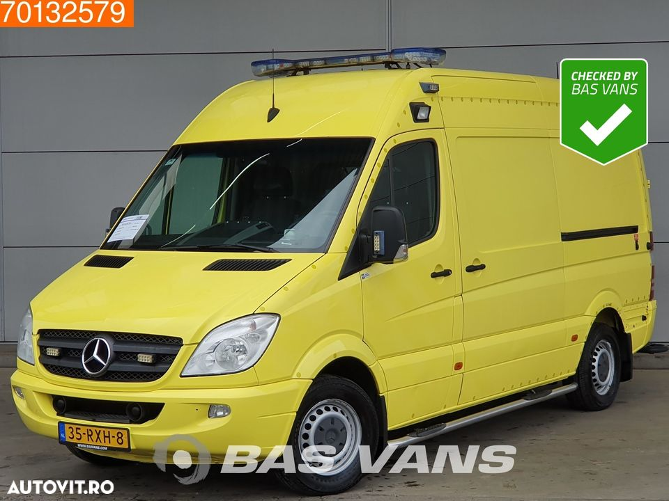 Mercedes-Benz Sprinter 319 CDI Fully Equipped Ambulance Brancard Rettungswagen L2H2 Airco Cruise control - 1