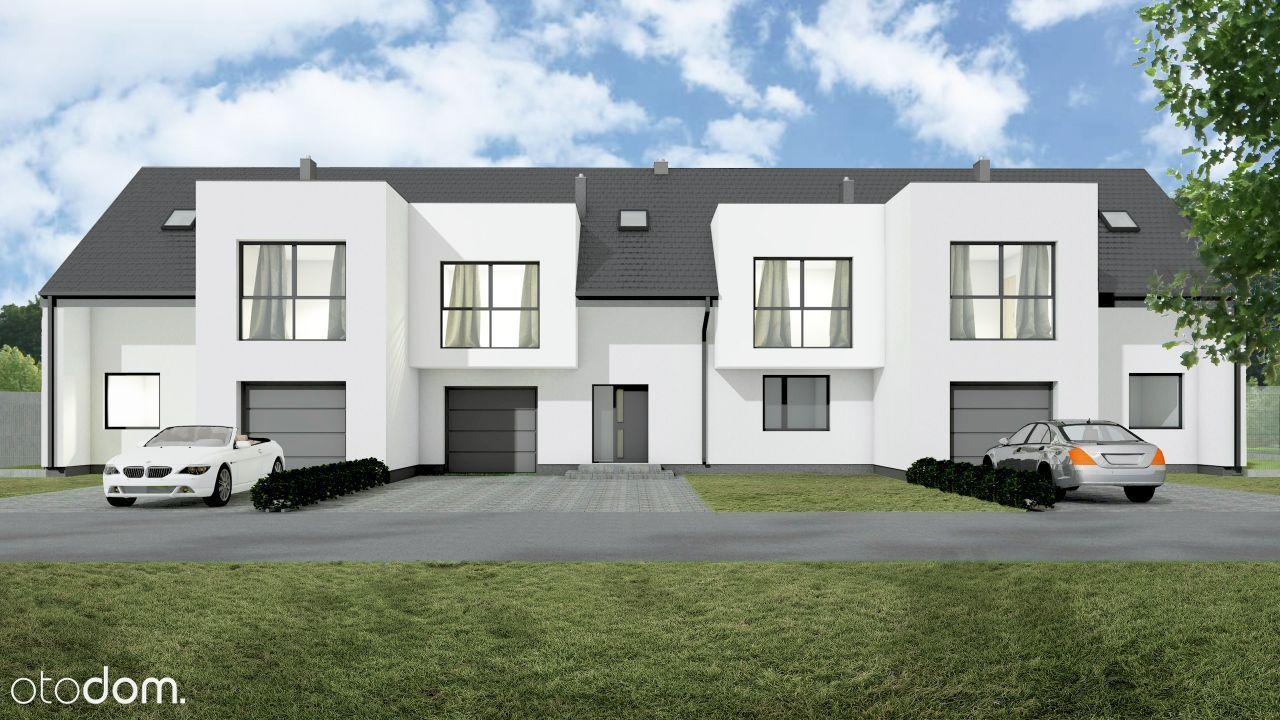 Nowe domy w zabudowie szeregowej Północ