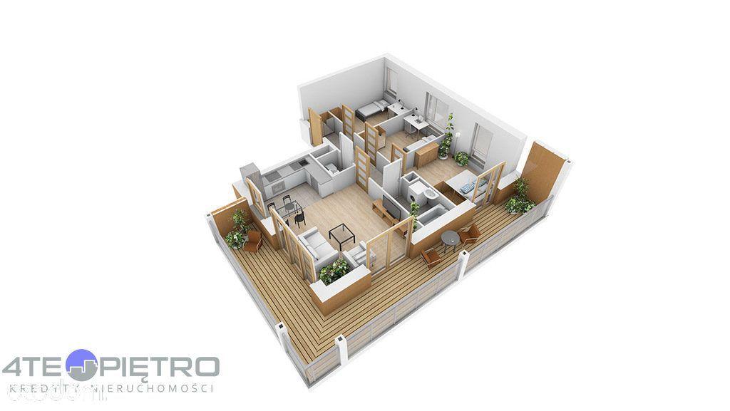 Nowe, 4 pokoje + Ak, 65m2, taras, Czuby, 2022r