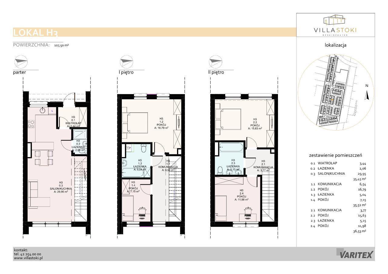 Dom typu 112 - Villa Stoki (dom H.03)